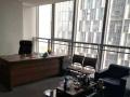 郑东新区标志性建筑,双面采光 精装带家具三个办公室
