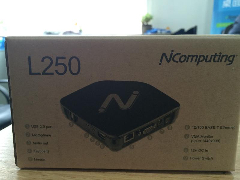 桌面迷你主机电脑共享器NComputing L250