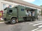 重汽宿营车专门针对消防 部队研发生产的战地后勤保障车
