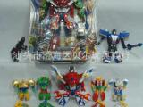 动漫变形玩具 变形大合体玩具 儿童变形机器人玩具 吸板变形金刚
