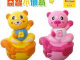 妮妮雅Q船卡通小熊、小猪灯光音乐不倒翁(包电),婴幼儿玩具