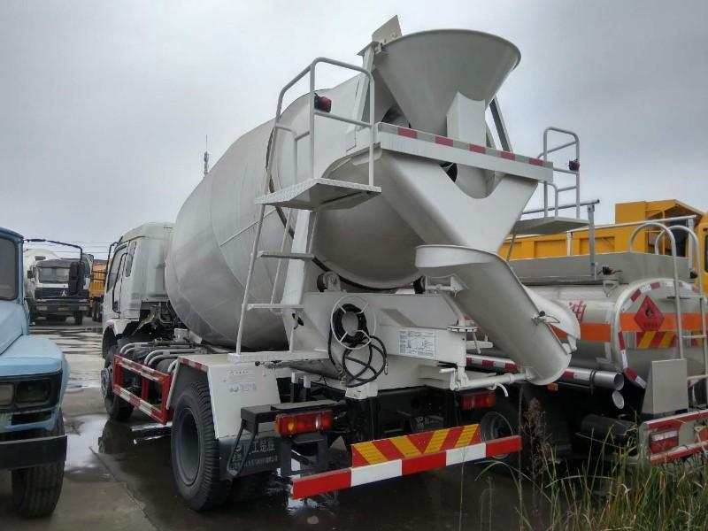 大运运隆4方6方小型混凝土搅拌车罐车玉柴140马力