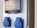 工业防水16A手提式插座箱电源箱上海必胜易品牌