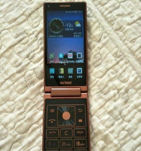 金立w909高端翻盖手机卖
