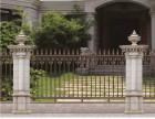 广东铝艺护栏厂家,豪华庭院大门加盟