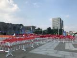 现货铁马护栏,道路施工临时防护栏 铁马警示围栏 广告牌防护栏