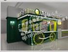 厂价直供天津商业街小吃车,海南旅游区专用的土特产实木制售货车