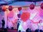 小丑泡泡秀美女不倒翁气球装饰魔术舞蹈杂技成缘童派