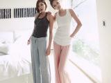 2014秋季女装新款韩版韩国女式大码纯色莫代尔裙裤阔腿裤长裤批发