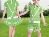 2014定做夏季幼儿园园服夏装校服班服六一演出服合唱夏款批发纯棉