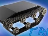 TREX金属同步履带教学实验坦克带避震器减震,全金属波箱同步轮