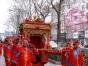 中式婚礼 花轿 马 舞狮