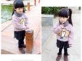 青岛批发童装货源厂家最低价5元儿童加绒加厚卫衣打底衫特价批发