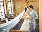 韩式婚纱照新娘造型搭配