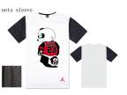 易建联同款男士圆领短袖T恤 男士短袖T恤 欧码嘻哈短袖 熊猫短袖