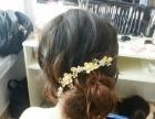 松江九亭新娘跟妆盘发活动造型主持造型化妆年会化妆
