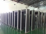 高品质金属型 经济型 防雨型安检门 物流快递专用安检机