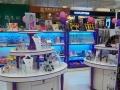 商业展柜,货柜,烤漆柜台,展柜,货架,道具设计制作