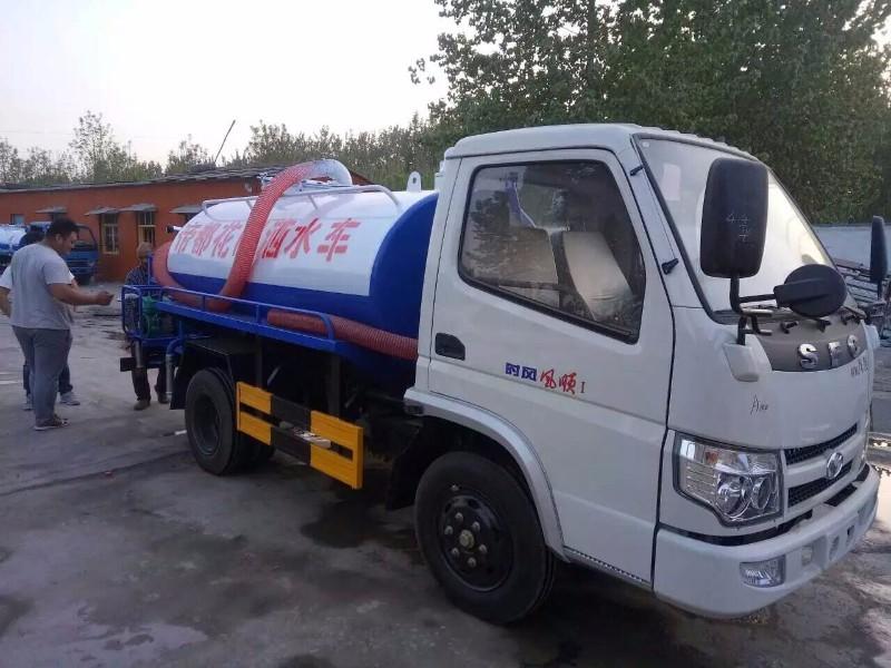 转让一辆东风多利卡8吨绿化洒水车货到付款