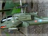 司马航模S109G 电动遥控飞机 军事阿帕奇直升机 航空模型玩具