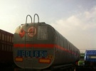 诚信出售二手散装油罐运输半挂车 保证原装 包提档过户4年11万公里4.6万
