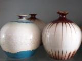生产加工陶瓷工艺品花瓶创意陶瓷花瓶摆件订单定做佛堂花瓶 价格