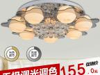 现代水晶LED吸顶灯卧室客厅灯大堂LED灯水晶吸顶灯时尚卧室灯具
