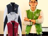 厂家直销 秋冬装男式卫衣 韩版百搭运动棒球外套 男装批发分销