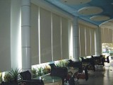 窗帘定做安装 专业定制办公百叶窗遮光半透卷帘