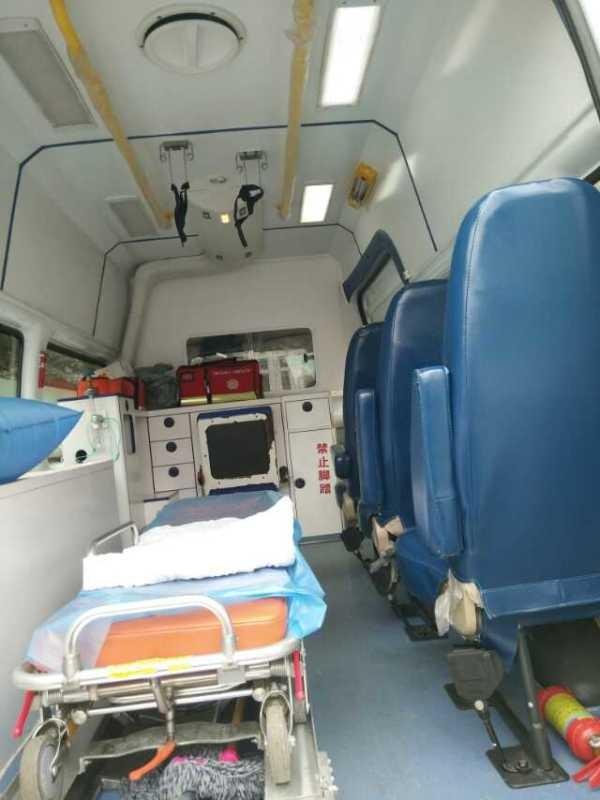 池州网上私人救护车跨省长途出租1390261 4089