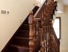别墅楼梯水泥实木楼梯 上海木楼梯价格 楼梯厂家做方案报价 j