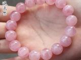 天然马达加斯加粉晶 粉晶手链 粉晶散珠 批发 天然水晶