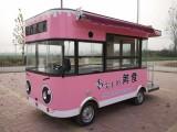 電動流動小吃車早餐車冷飲燒烤車水果蔬菜車售貨車
