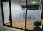 东公庄店面装修玻璃贴膜防爆膜磨砂膜彩色装饰玻璃贴膜