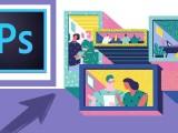 学PS精修图 平面设计抠图 排版设计培训到创硕教育