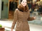 韩版女式棉衣外套 冬季新款羽绒棉棉袄 加