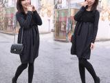 2014微信新款 孕妇装 时尚流行蝴蝶结绑带大码韩版孕妇连衣裙