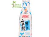 海南特产原味椰汁汁 生榨椰汁纯天然新鲜果肉椰子汁瓶装500ml