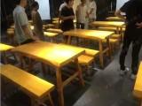 惠州木凳子尺寸定制 木屋烧烤凳子 撸窜店凳子