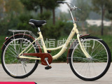 厂家批发 24寸女士自行车成人 男女式轻