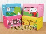 厂家直销  牛津布卡通收纳箱 儿童可折叠百纳箱 收纳盒