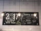 Magwall磁性黑板墙复古咖啡店菜单牌无尘书写双层黑板贴