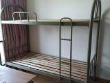 合肥全新角铁材质上下铺床,宿舍高低床双层床批发