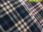 厂家直销男士加绒衬衫格子布 经编拉毛磨毛印花复合超柔布 现货9