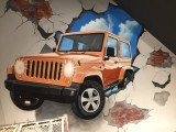 成都市提供优质墙绘壁画彩绘火锅店涂鸦背景墙