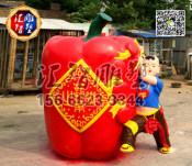 仿真蔬菜雕塑低价批发 山东出色的仿真蔬菜雕塑供应