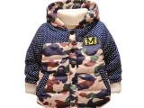 童装免费一件代发 1-2-3-4岁男孩加厚棉袄高档宝宝冬装宝宝棉