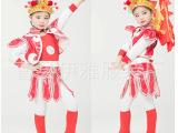 儿童戏曲表演服装 花木兰戏服演出服 穆桂英服京剧小花旦唐朝兵服