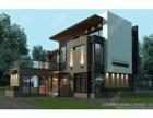 私人住宅 轻钢别墅 镀铝锌轻钢骨架 新型环保材料