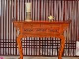 哪家缅甸花梨木抽屉桌条案做的好
